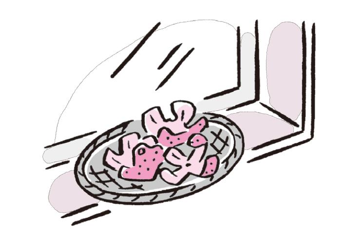 使用済みティッシュをしまう認知症利用者への対応【後編】