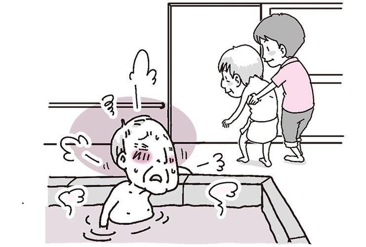 ヒヤリ・ハット報告書のよくある事例【1】入浴