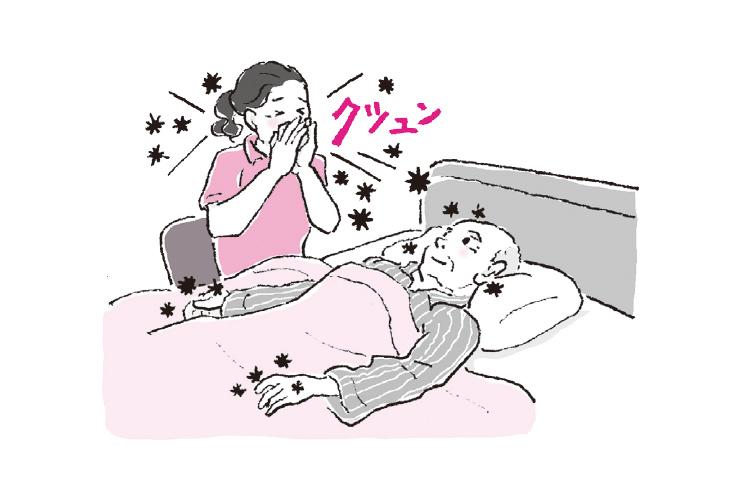 【感染予防】介護現場での主な3つの感染経路