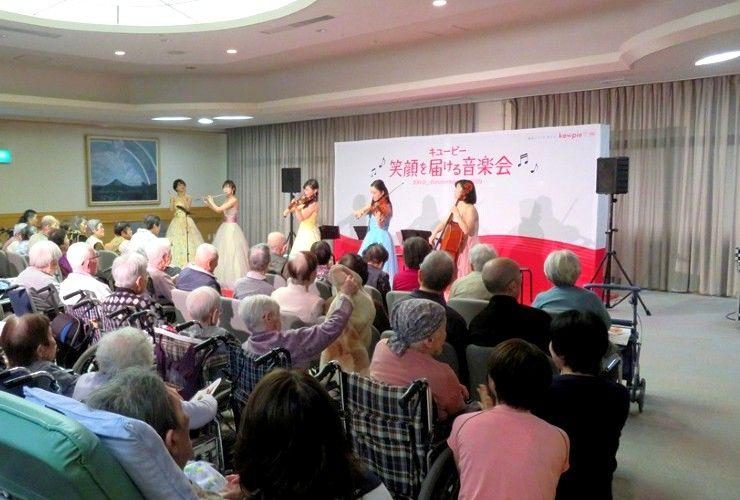 「キユーピー 笑顔を届ける音楽会」広島県・愛媛県で開催しました! その4