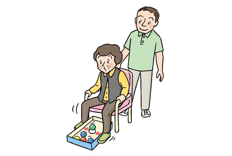 下肢筋力を維持するためのレクを安全に行うポイント